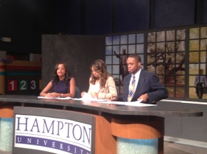 Hampton University WHOV TV Sportscast 11/21