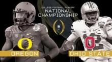 Oregon and Ohio State play tonight in the first ever College Football National Championship. (staance.com)
