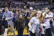 USP NCAA BASKETBALL: VILLANOVA AT GEORGETOWN S BKC USA DC