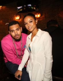 Chris-Brown-accompanied-Karrueche-Tran